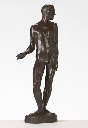 Gerhard Marcks, Stehender Mann, 1910