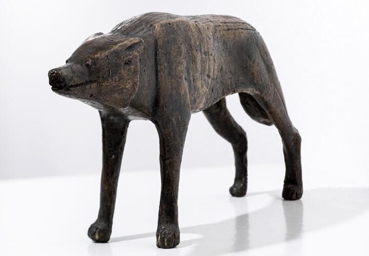 Gerhard Marcks, Böser Hund, 1949, Bronze, VG Bild-Kunst, Bonn 2017