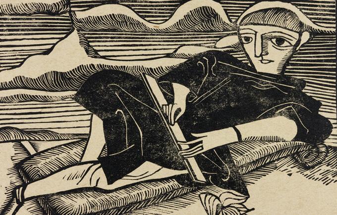 Gerhard Marcks Der Künstler II, 1923