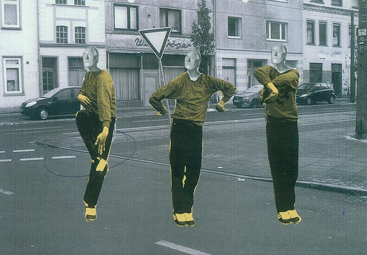 Gertrud Schleising, Dancing in the street, 2015, VG Bild-Kunst, Bonn 2016