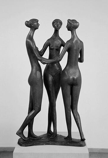 Gerhard Marcks, Drei Grazien, 1957