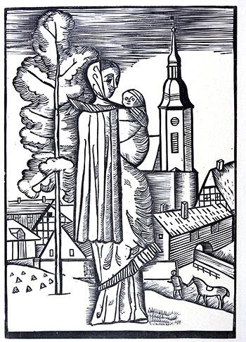 Gerhard Marcks, Thüringer Mutter 1923
