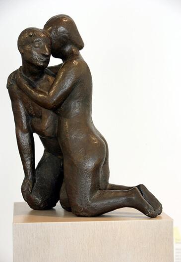 Gerhard Marcks, Pan und Nymphe, 1928