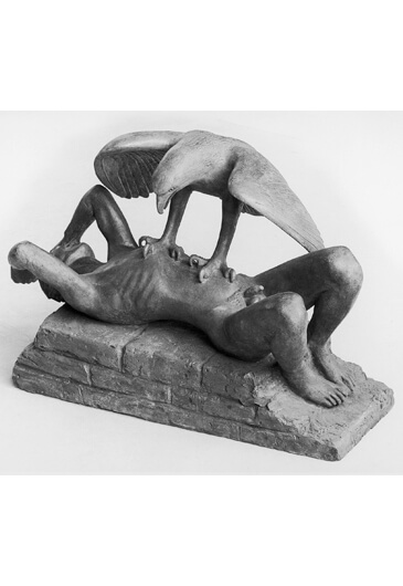 Gerhard Marcks, Prometheus und der Zeus-Adler, 1981
