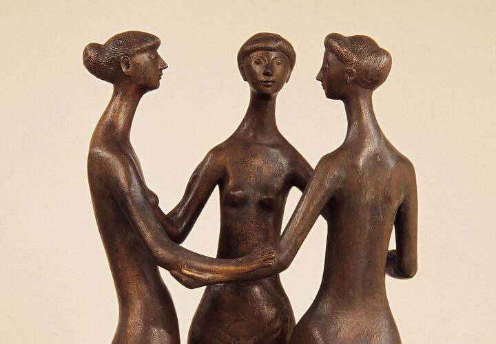 Gerhard Marcks, Drei Grazien, 1957, Bronze, Gerhard-Marcks-Stiftung, Bremen © VG Bild-Kunst, Bonn 2017