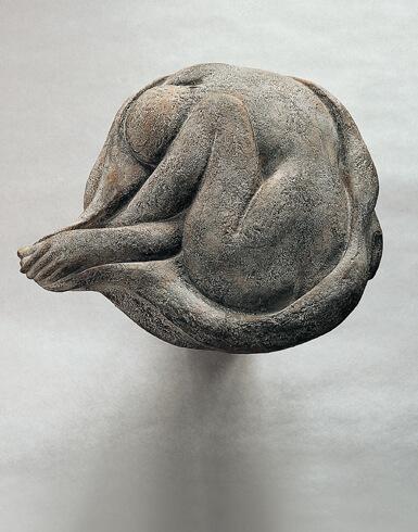Wolfgang Friedrich, In Tuch Gehüllte, 1982-2005, Bronze, Foto: Hans Pölkow, VG Bild-Kunst, Bonn 2018