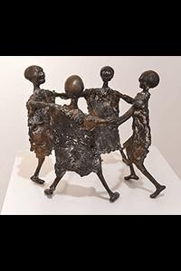 Gerhard Marcks Totentanz, 1968 Bronze VG Bild-Kunst, Bonn 2018