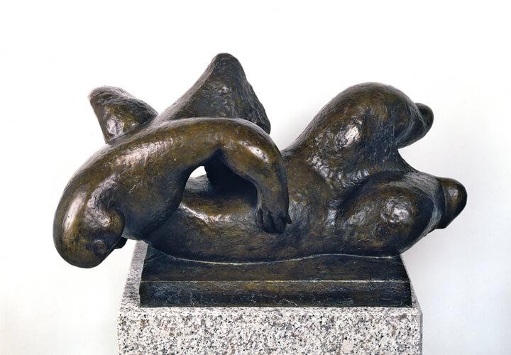 Henri Laurens, Erzengel, 1946, Bronze, Privatsammlung Norddeutschland