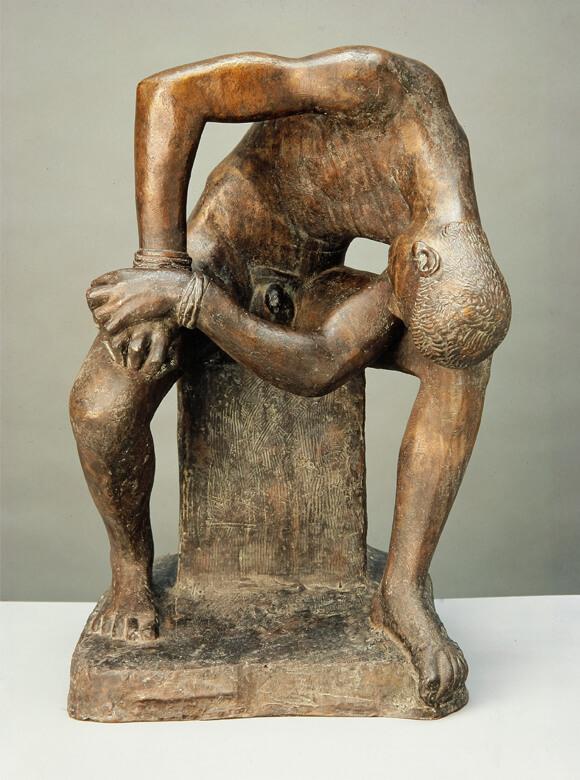 Gerhard Marcks, Der gefesselte Prometheus, 1948, Bronze