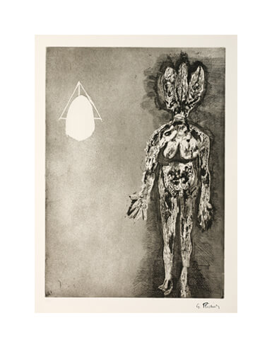 Germaine Richier, L'Hydre, 1954, Aquatintaradierung