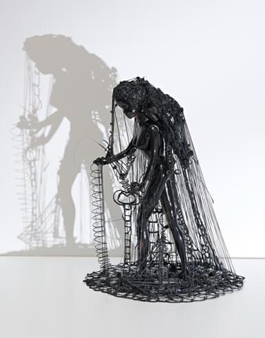 Zipora Rafaelov, Black-Beauty, 2018, Kunststoff