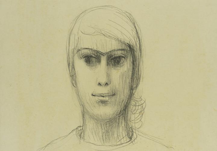 Gerhard Marcks, Porträt Trude Jalowetz, 1933, Bleistift auf Papier, VG Bild-Kunst, Bonn 2019
