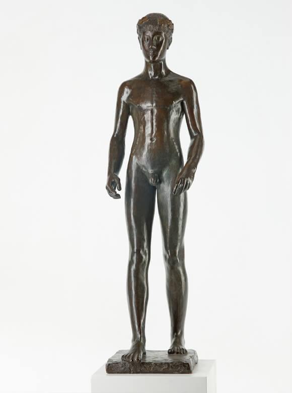 Gerhard Marcks, Ver Sacrum, 1943, Bronze und Blei, VG Bild-Kunst, Bonn 2019