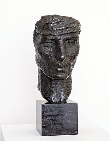 Renée Sintenis, Selbstporträt, 1923, Bronze, Sammlung Karl H. Knauf, Berlin, VG Bild-Kunst, Bonn 2019