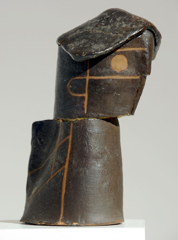 Gerhard Marcks, Kopfgefäß, 1919, Terrakotta