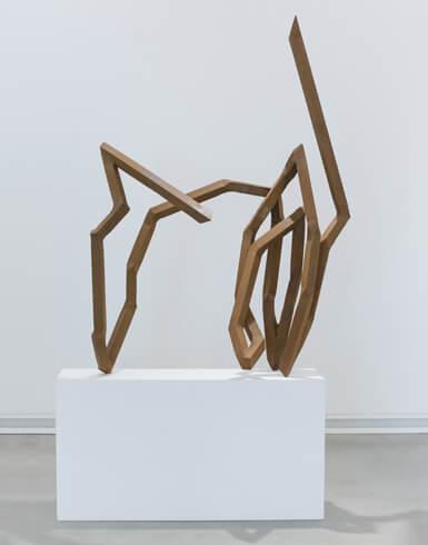 Robert Schad, Sgrid Morium, 2016, Vierkantstahl, VG Bild-Kunst, Bonn 2020
