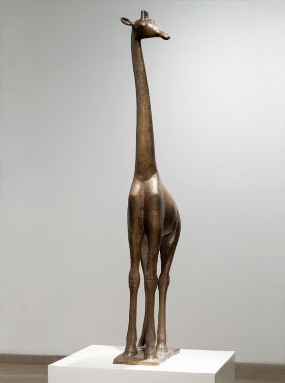 Gerhard Marcks, Giraffe, 1955, Bronze