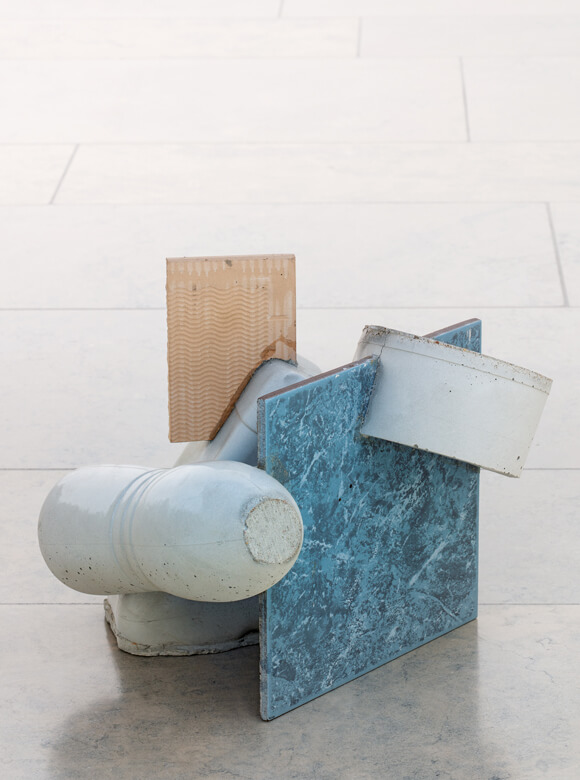 Ruud Kuijer, Ohne Titel, 2013, Beton, Keramik, Foto: Rüdiger Lubricht