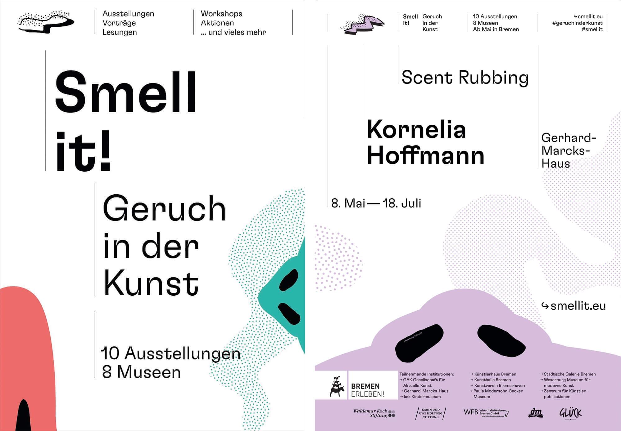 """Gemeinschaftsprojekt """"Smell it! Geruch in der Kunst"""""""