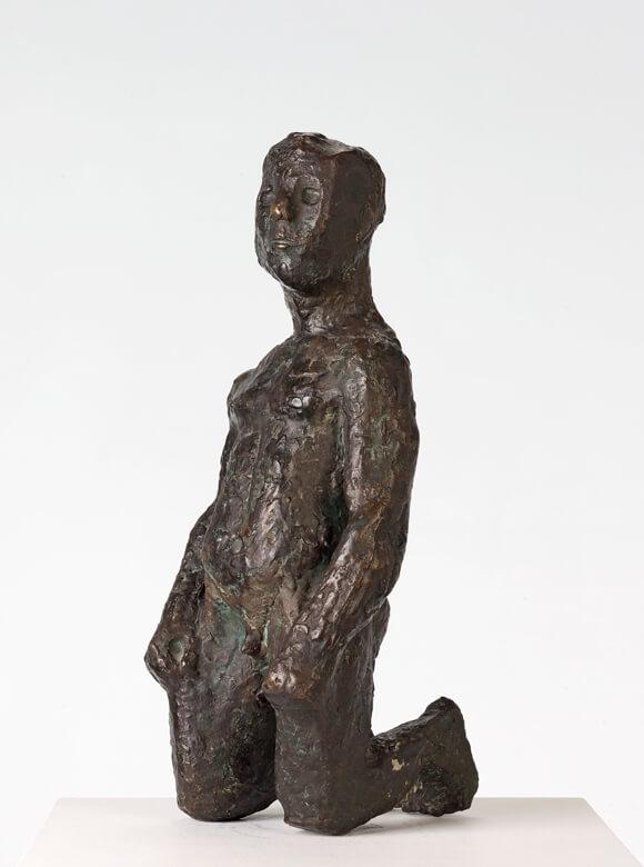 Gerhard Marcks, Kniender Antäus, 1926, Bronze